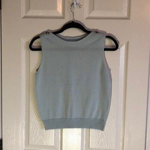Spanner sleeveless knit top. Size small